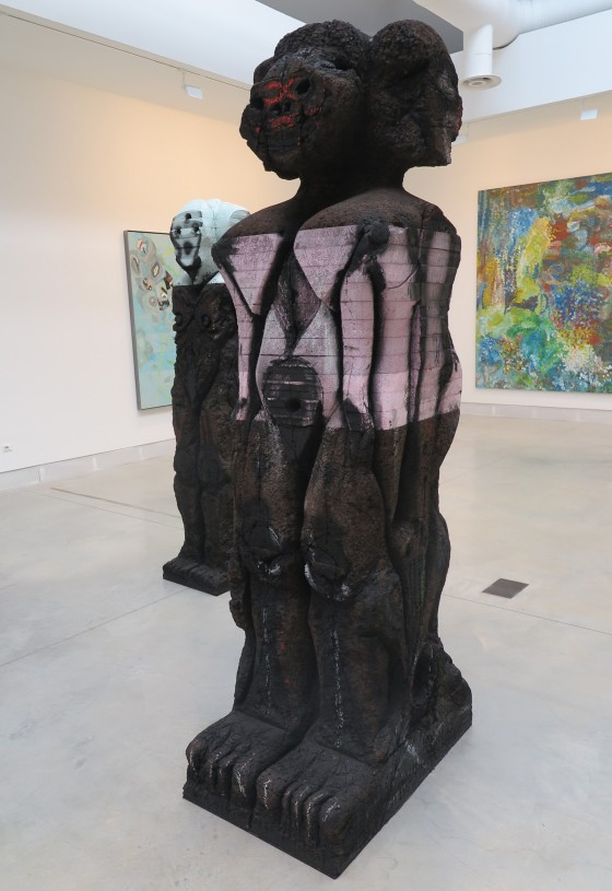Huma Bhabha  -hoofd expositie - Giardini