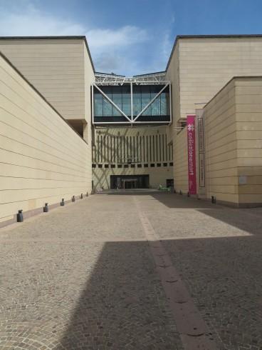 Entree MART museum Rovereto, Italie