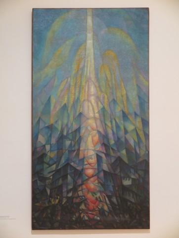 Leonardo Dudreville - aspirazione, 1917