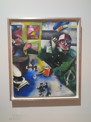 Marc Chagall - Il soldato beve, 1911-1912