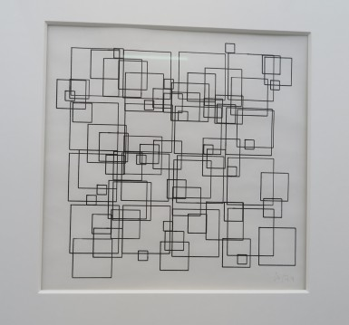Square Structures, Vera Molnar - DAM galery Berlin