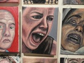 Erik Suidman, een van zijn 1300 portretten