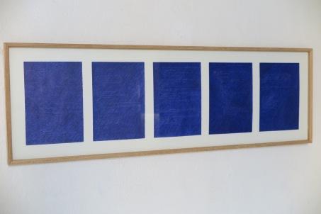 Seán Hannan - Blue material