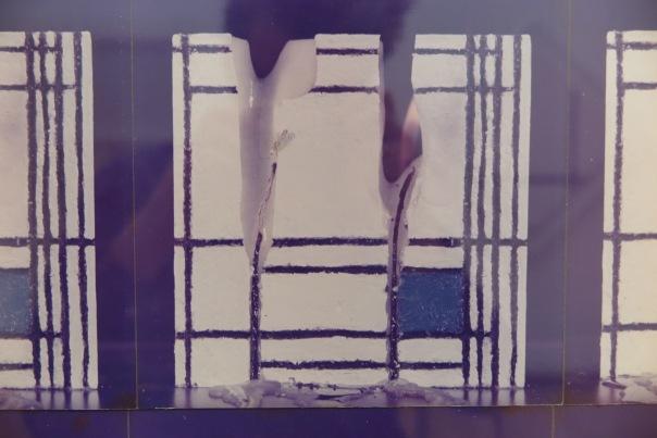 Cardena rechauffe 2 lignes de Mondrian no. 1