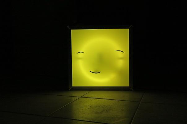 Lichtbak (smiley) van Lennart de Neef
